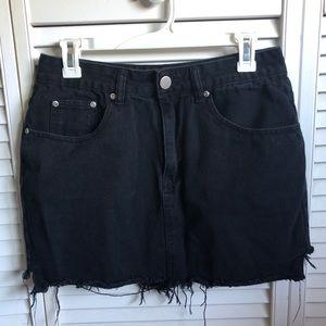 Dresses & Skirts - Black Denim Skirt